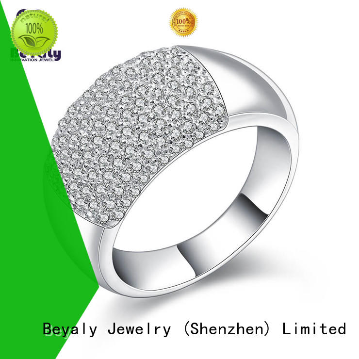 Top sterling silver ring silver manufacturers for women