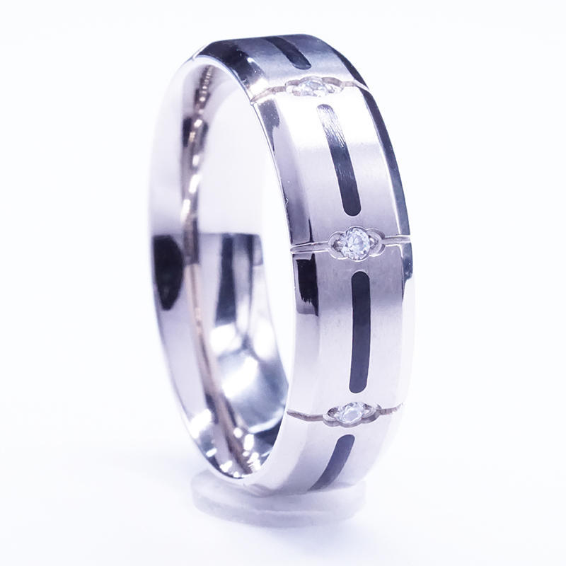 Stainless Steel Engagement Rings and Wedding Bands