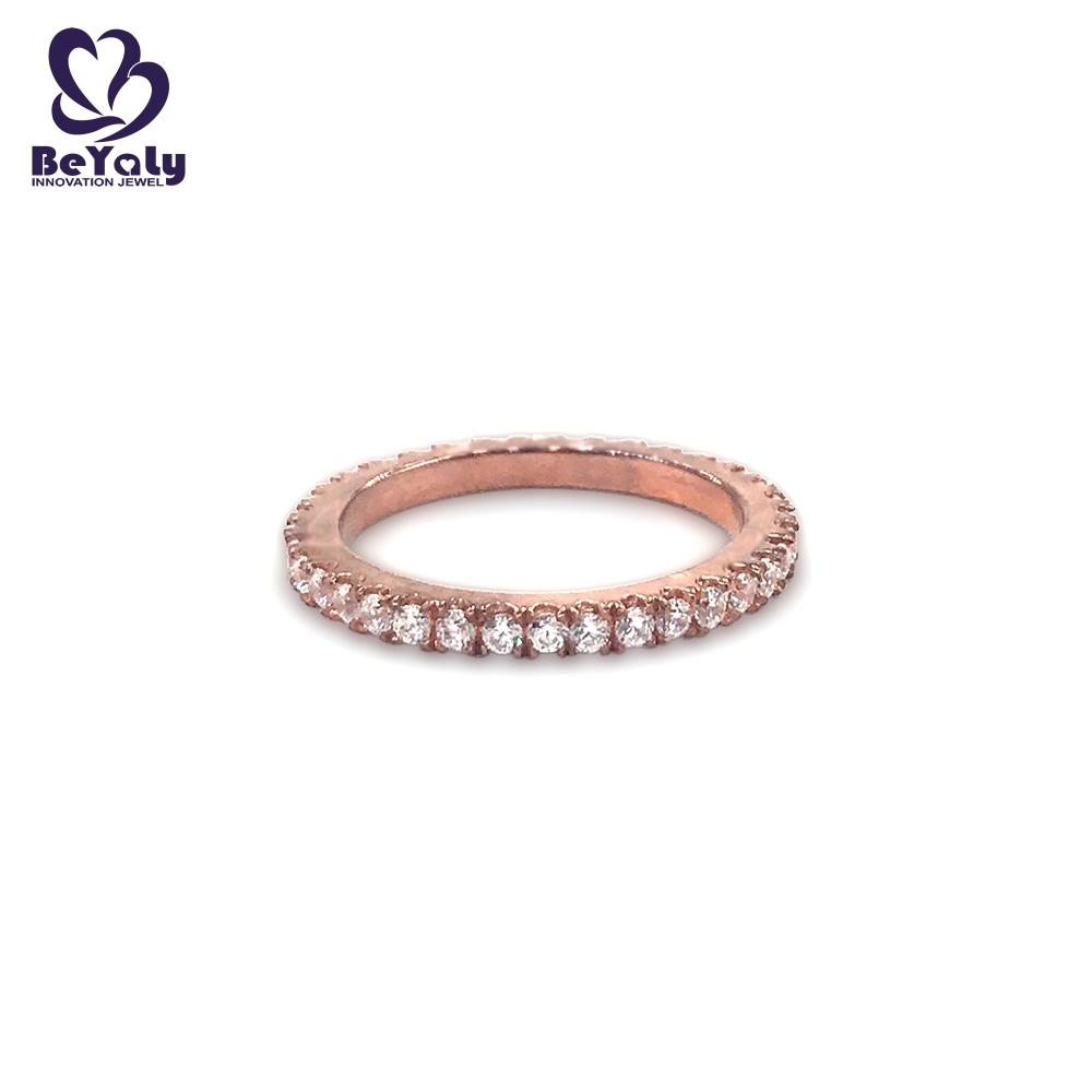 BEYALY Wholesale platinum diamond rings company for daily life-1