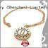 BEYALY brilliant silver clover pendant design for women