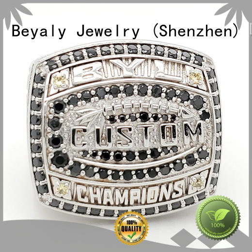 BEYALY brass national championship rings supplier for player