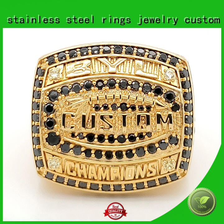 BEYALY art deco championship rings design for athlete
