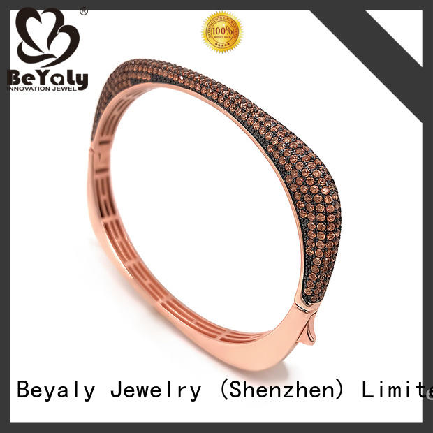 BEYALY fashion bangle bracelets with words for business gift