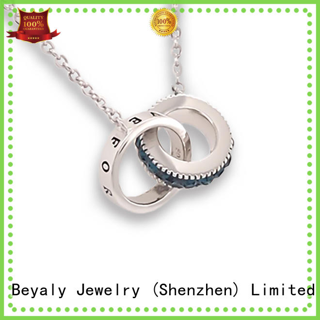 High-quality silver pendant necklace fashion inquire now for wife