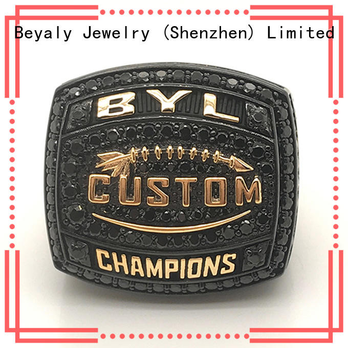 BEYALY Custom rugby championship rings Supply for player
