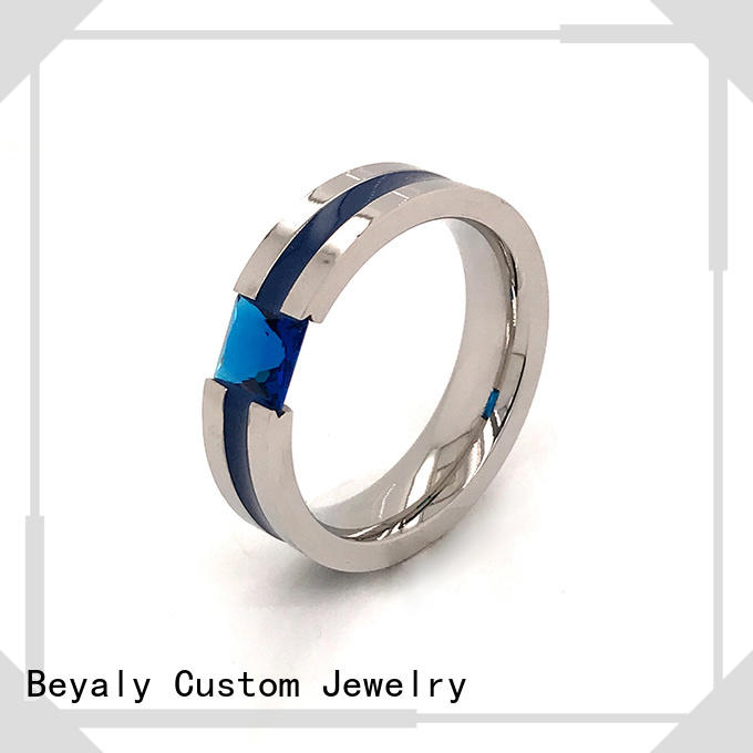 BEYALY Best popular wedding ring stores manufacturers for men