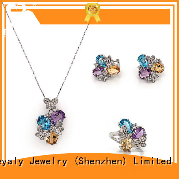 BEYALY earrings with matching necklace Suppliers for ceremony