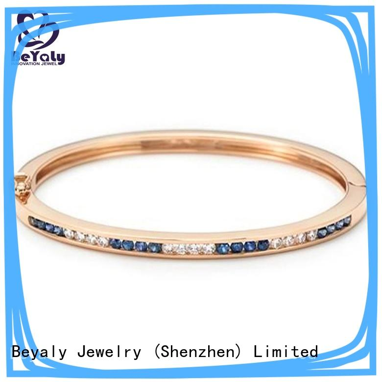 BEYALY Top latest ladies gold bracelets for anniversary celebration
