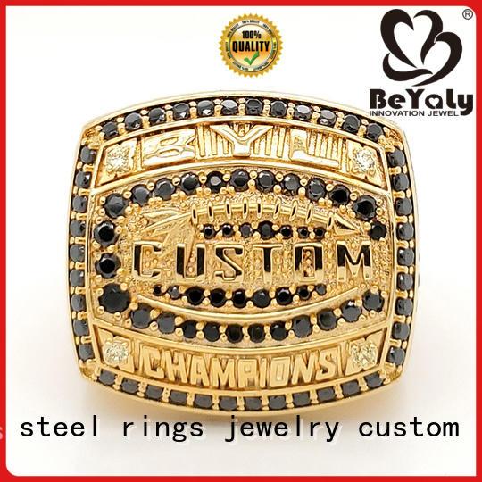 BEYALY elegant champion ring promotion for athlete