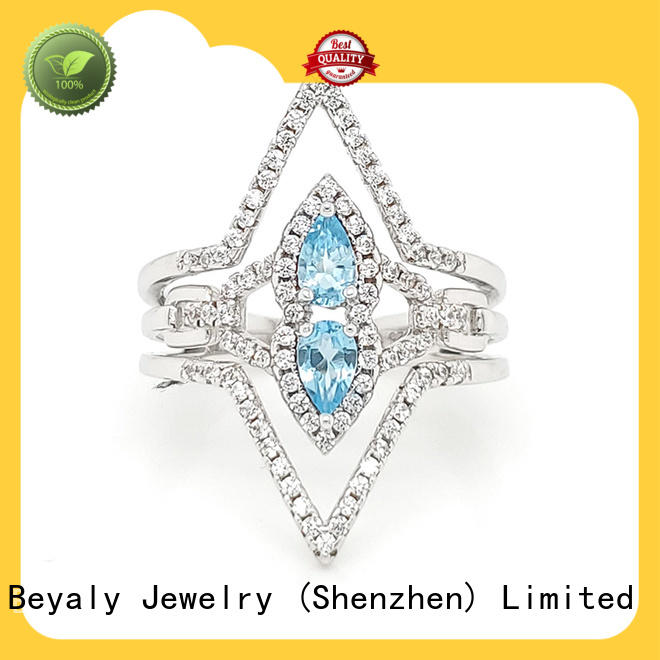 BEYALY gold platinum ring factory for daily life