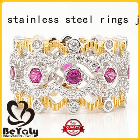 BEYALY china custom crown ring for women