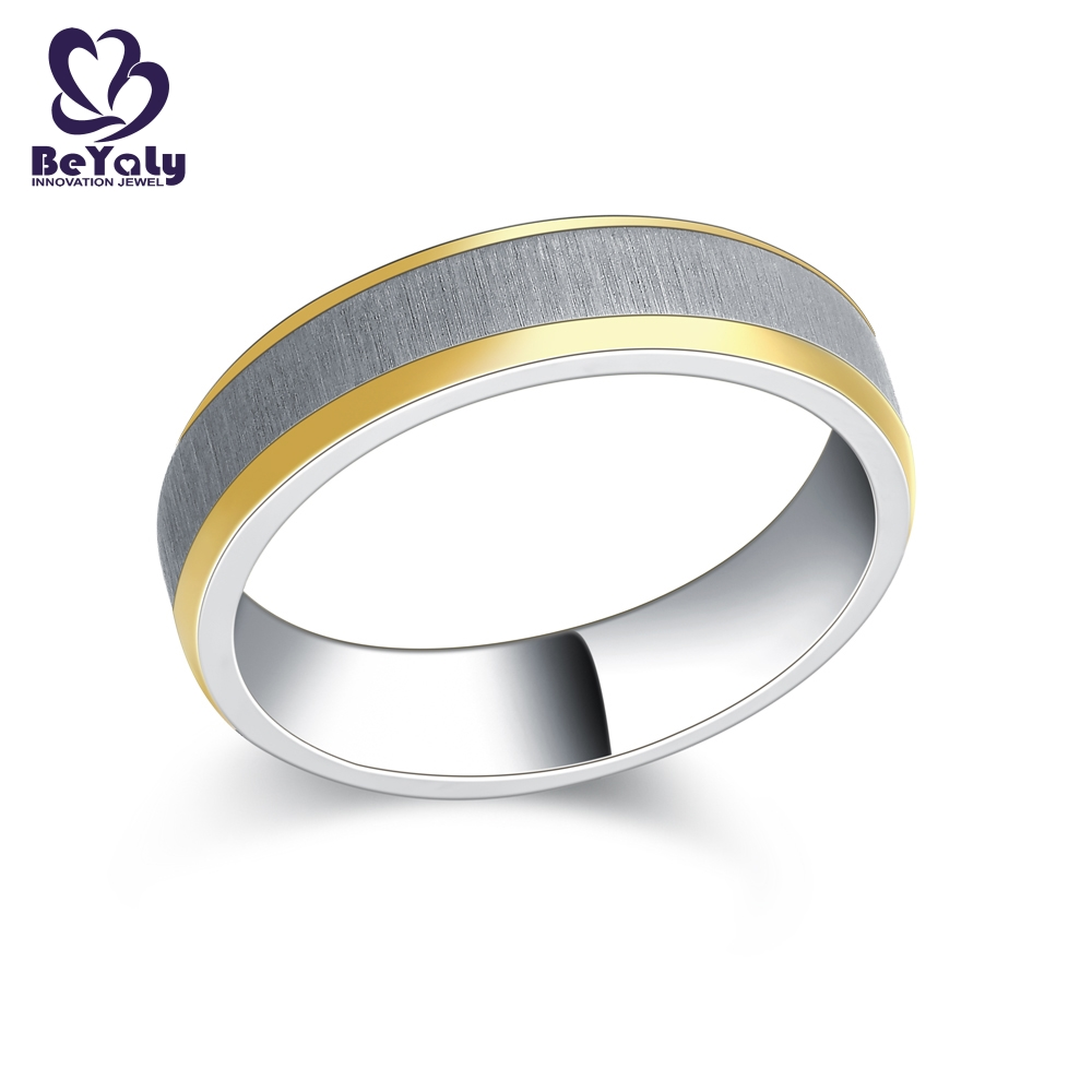 application-BEYALY customized platinum diamond rings sets for wedding-BEYALY-img