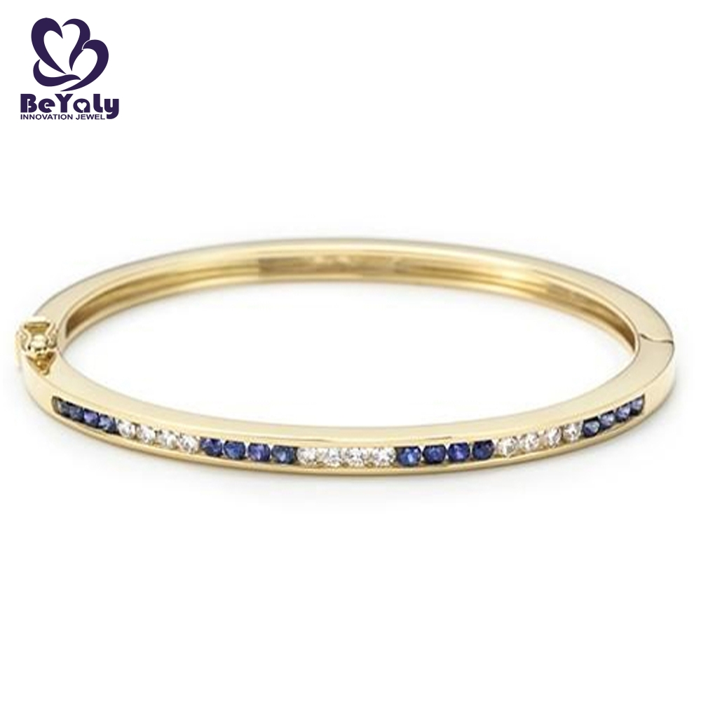 BEYALY Custom gold band bracelet with circles Suppliers for advertising promotion-1