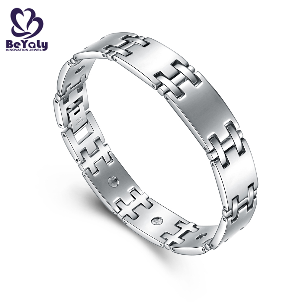 New solid silver bangles and bracelets color for business for advertising promotion-2