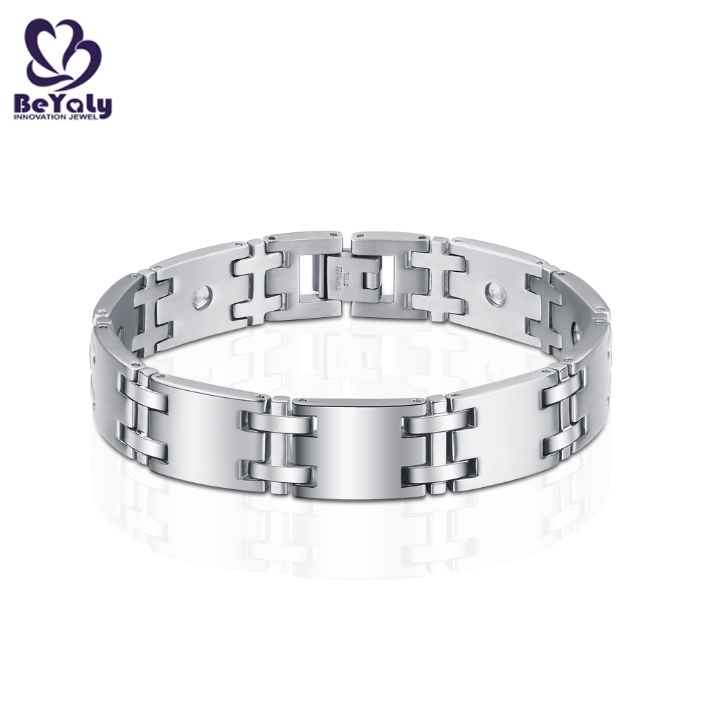 New solid silver bangles and bracelets color for business for advertising promotion-3