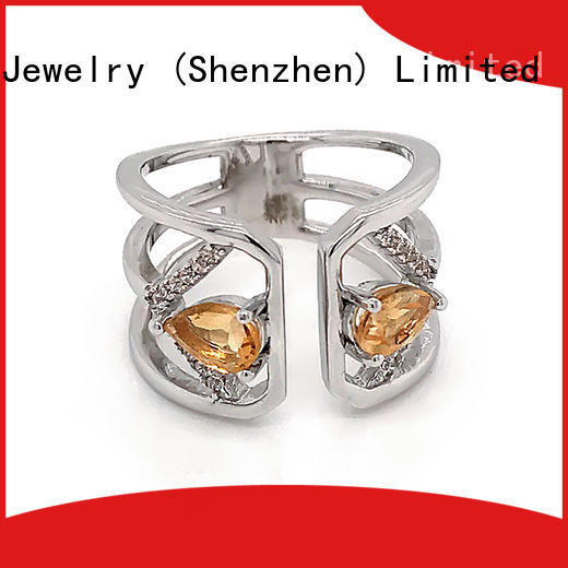 BEYALY Top platinum diamond band ring company for daily life