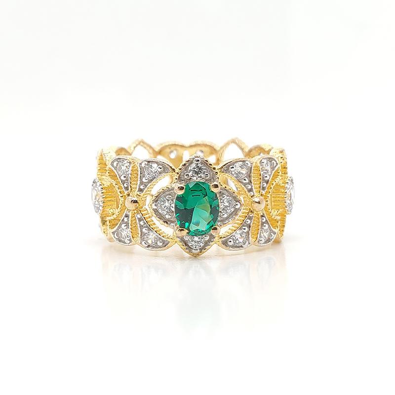 Elegant royal ring