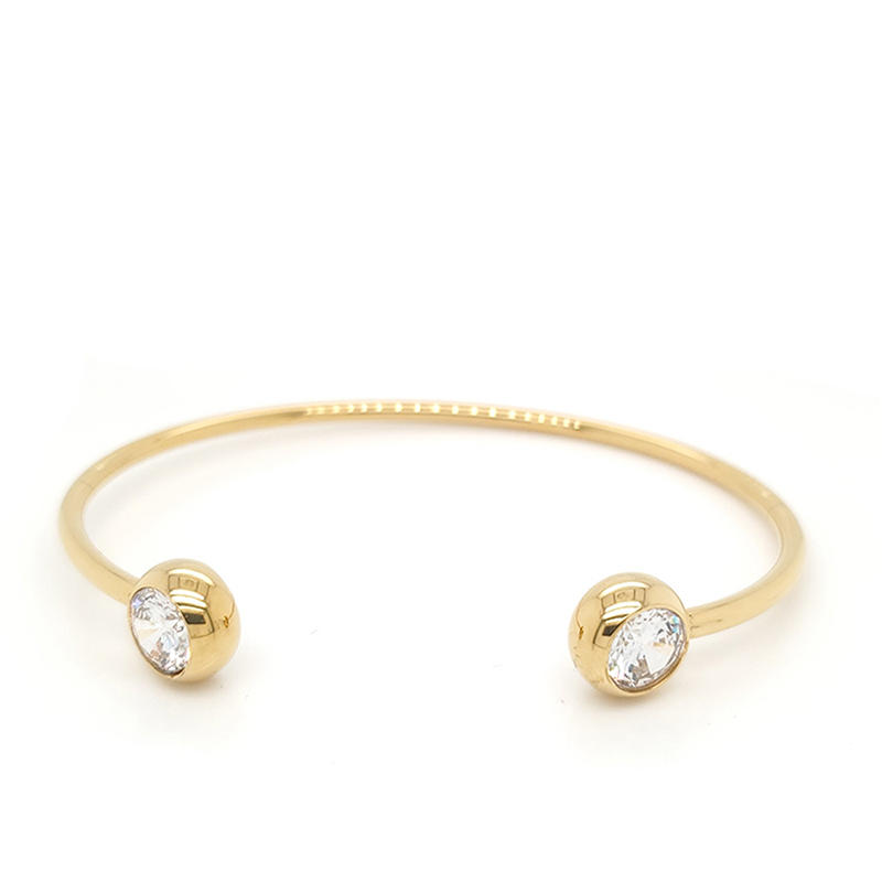light weight simple 925 bracelet sterling silver bangle woman