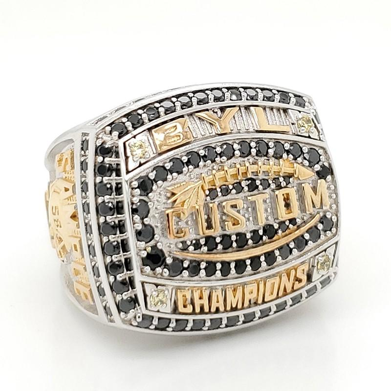 Latest football championship rings word factory for national chamions