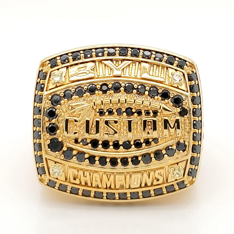 China jewelry manufacturer custom made brass championship ring