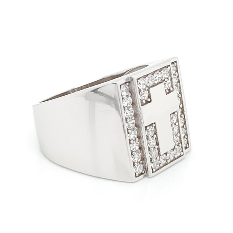 product-BEYALY-hot sale fashion design ring jewelry silver turkish men ring-img