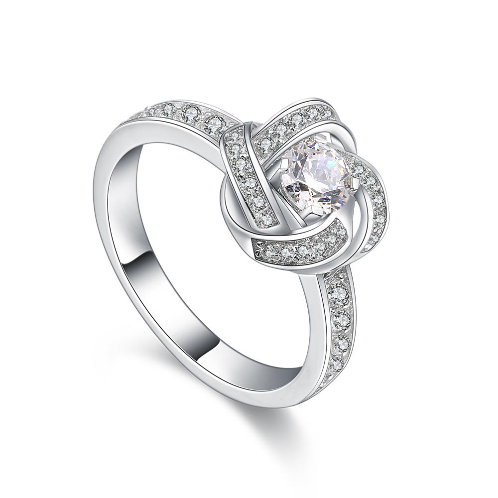 product-Elegant design 925 sterling silver good quality zircon ring-BEYALY-img-1