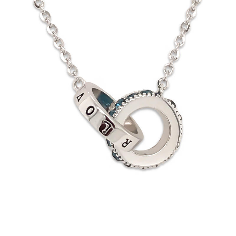 OEM new design fashion perfume locket sterling silver pendant necklace