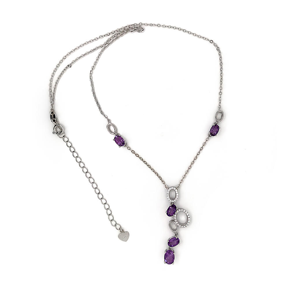 product-BEYALY-Wholesale 2020 new design oval gemstone jewelry necklace bracelet and bangle jewelry