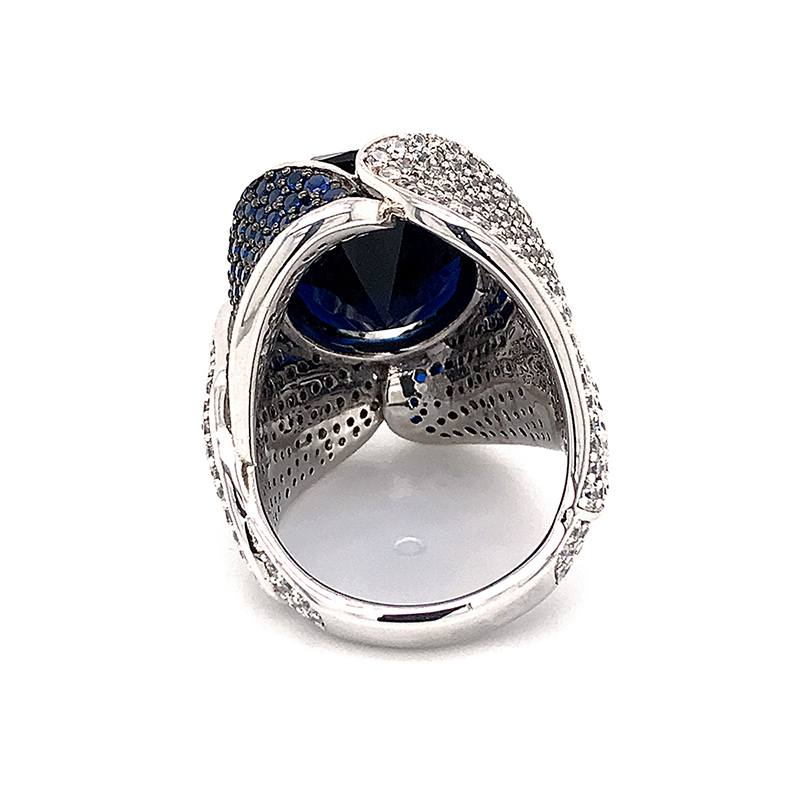 BEYALY High-quality sterling silver cubic zirconia rings Supply for men-BEYALY-img