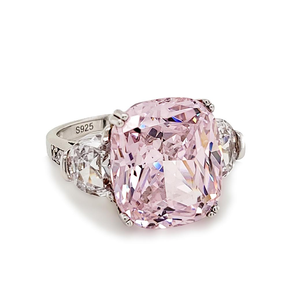 product-BEYALY-Luxury pink gemstone silver ring-img