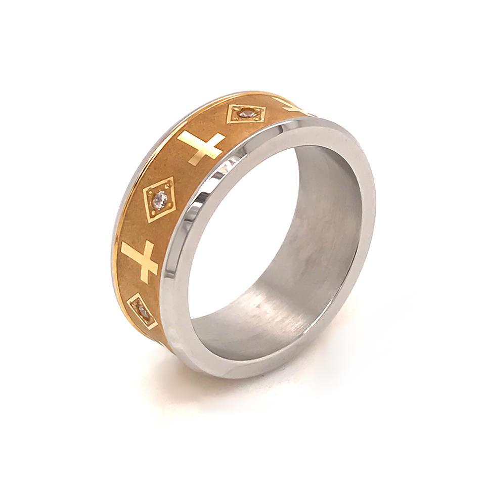 Wholesale Custom Made Jesus Christ Jewelry Stainless Steel Ring