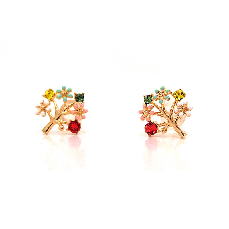 product-BEYALY-Tree Of Life 18k Gold Plated Earrings-img