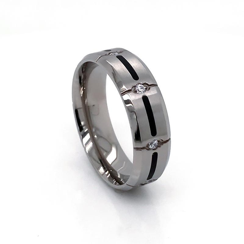 product-simple but nice design wholesale titanium ring engagement band-BEYALY-img-1