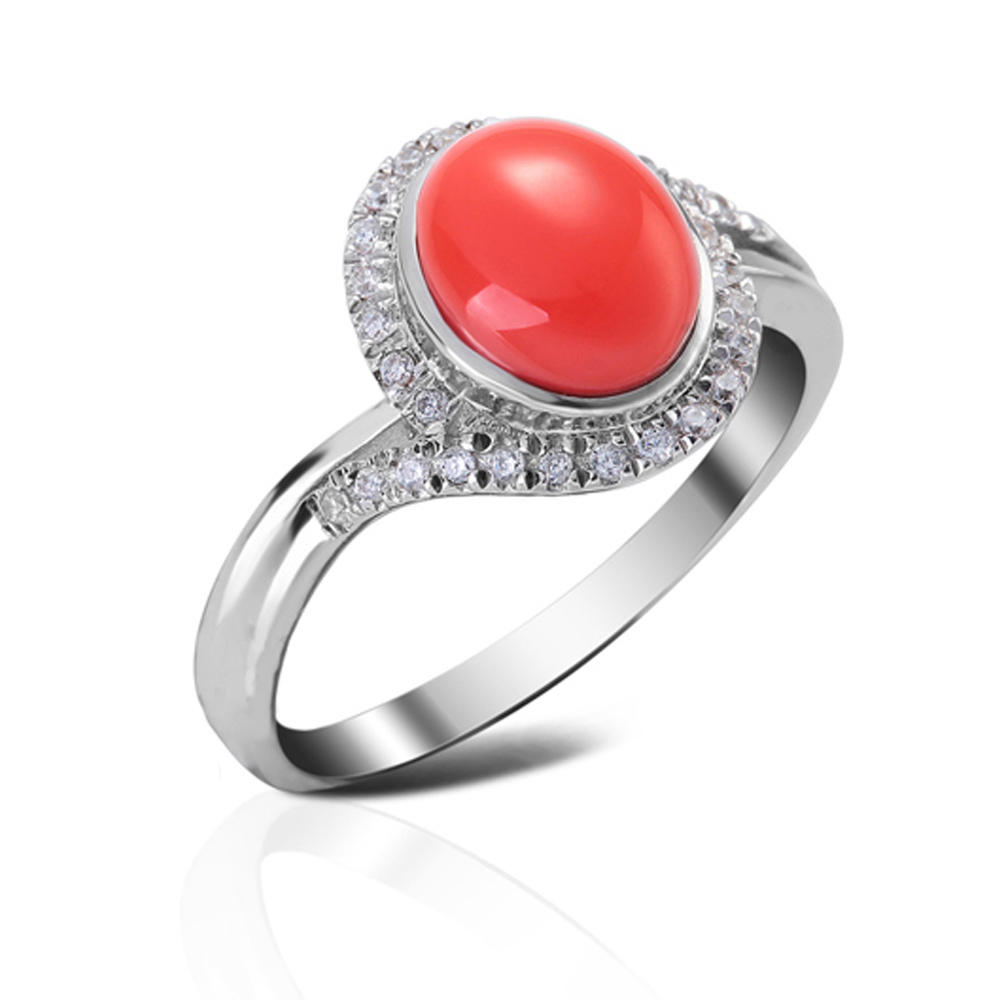 product-BEYALY-PVD plating 925 silver red agate mens wedding rings-img