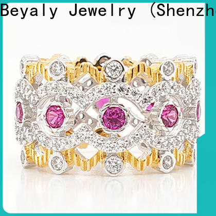 BEYALY crown and tiara rings Supply for women