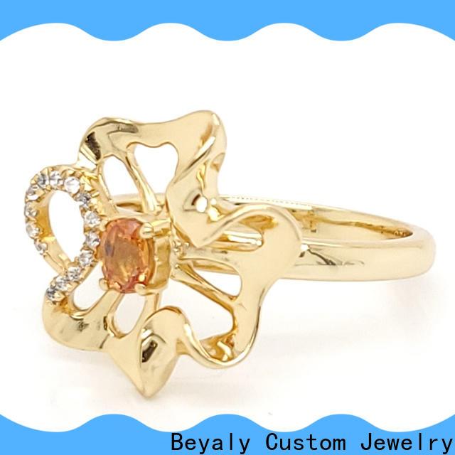 diamond most popular mens rings plating factory for men