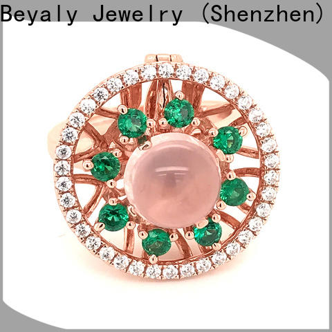 BEYALY inlay finest engagement rings for business for wedding
