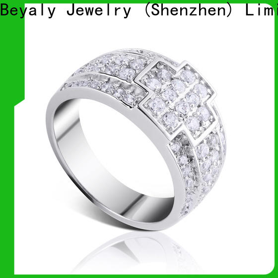 Top popular wedding ring sets plated Suppliers for men