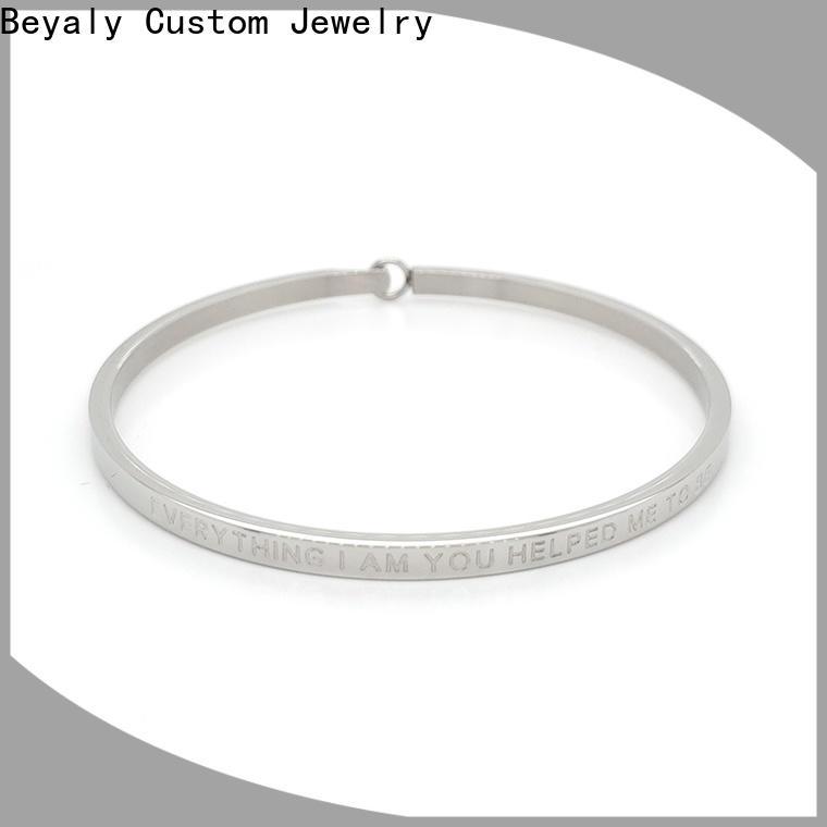 Latest cubic zirconia bangle bracelet black factory for advertising promotion