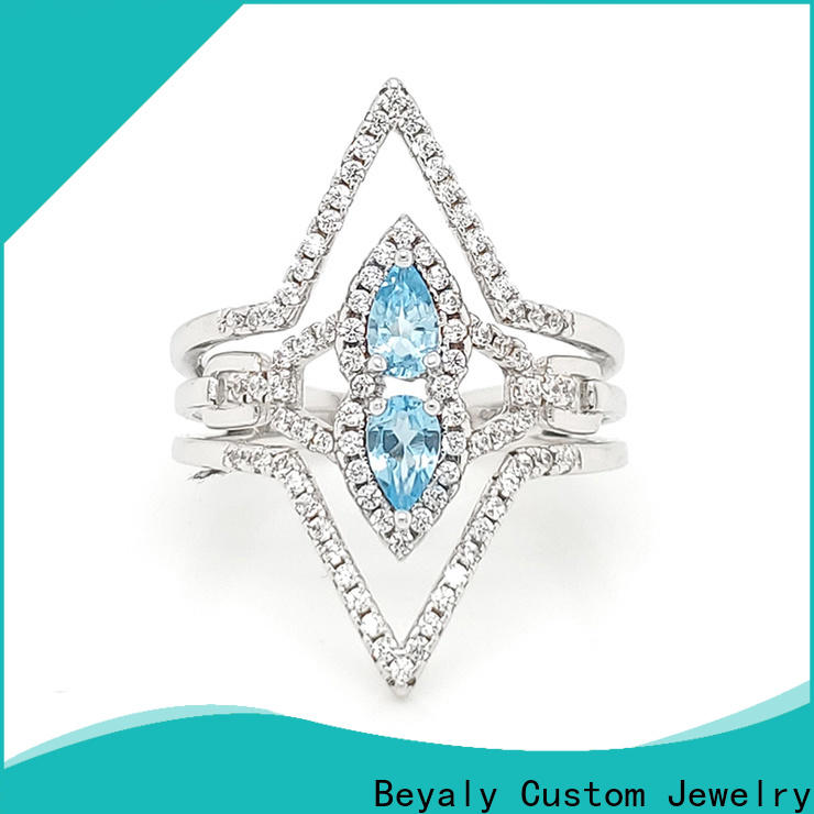 BEYALY Top most popular diamond engagement rings factory for wedding