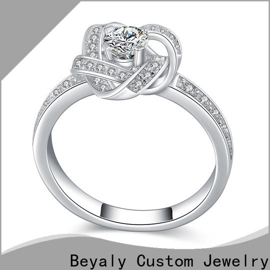 BEYALY Custom good size wedding band for business for wedding