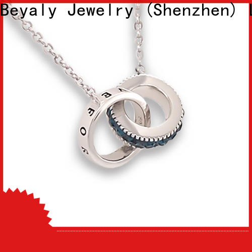 Custom jewelry dog tag necklace beauty manufacturers for women