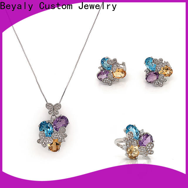 BEYALY gold jewellery gift set Suppliers for ceremony