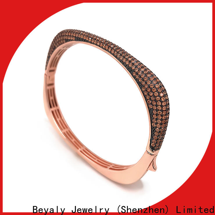 BEYALY Latest gold bracelet with circles on it company for business gift