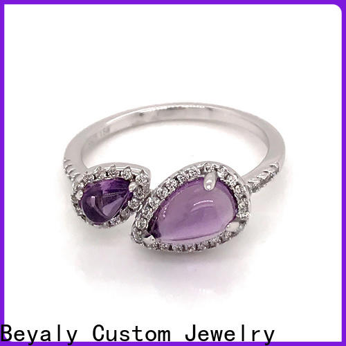 BEYALY Best top diamond ring designers factory for women