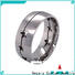 BEYALY stainless popular engagement ring settings Supply for wedding