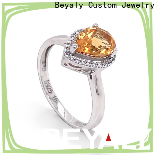 BEYALY customized most popular bridal ring sets for business for daily life