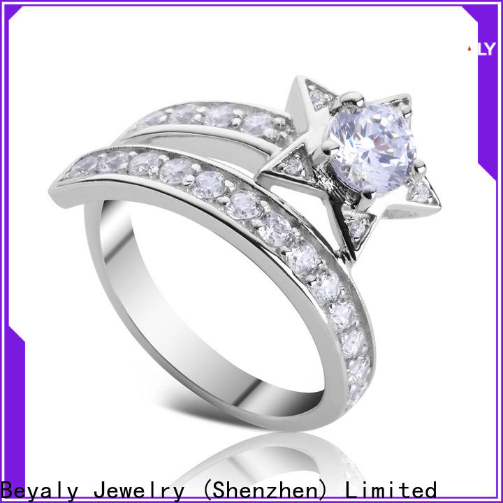 BEYALY plated top 20 engagement rings Suppliers for women