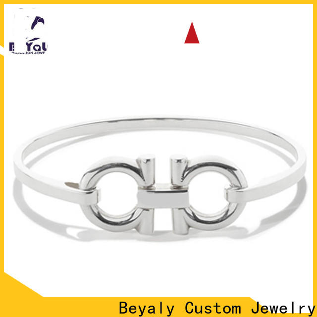 BEYALY Best plain silver bangle bracelet Suppliers for advertising promotion