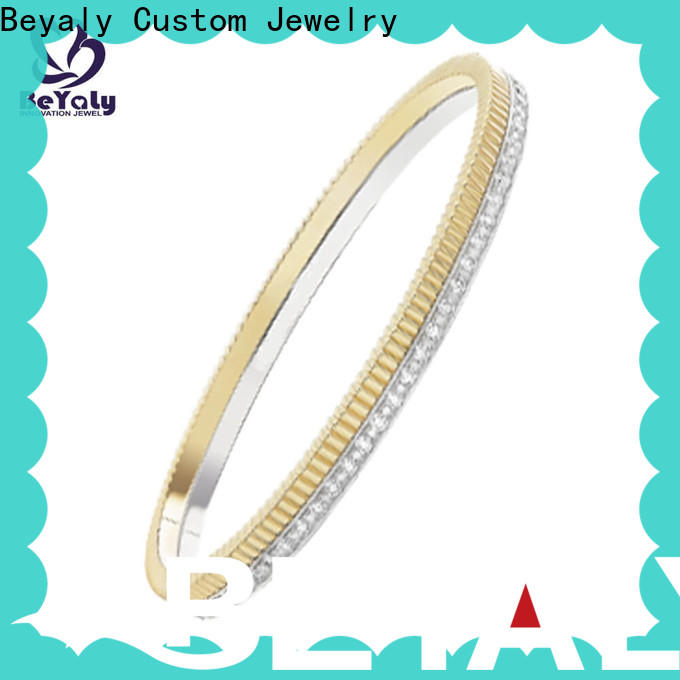 BEYALY Custom gold expandable bangle bracelet Suppliers for anniversary celebration